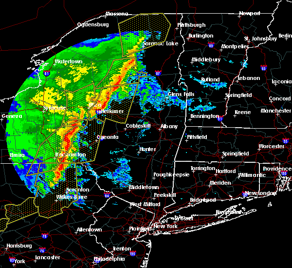Radar Image for Severe Thunderstorms near Frankfort, NY at 5/1/2017 8:15 PM EDT