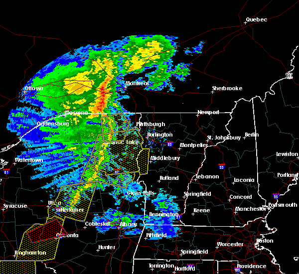Radar Image for Severe Thunderstorms near Au Sable Forks, NY at 5/1/2017 8:30 PM EDT