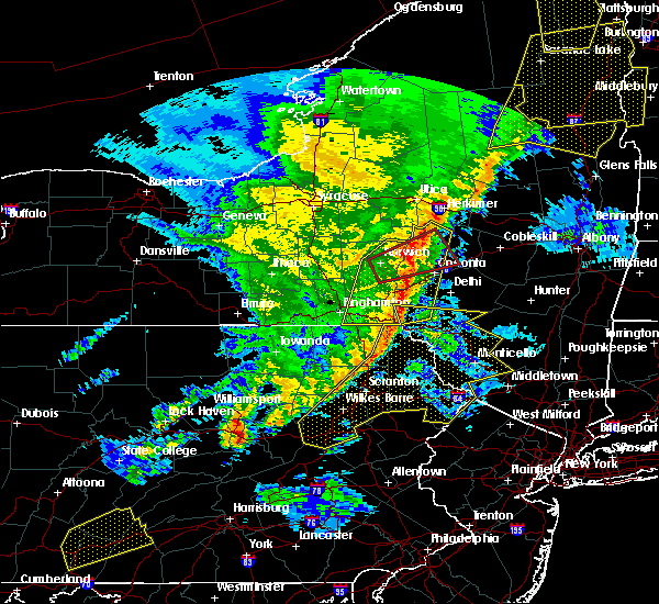 Radar Image for Severe Thunderstorms near Mountain Top, PA at 5/1/2017 8:34 PM EDT