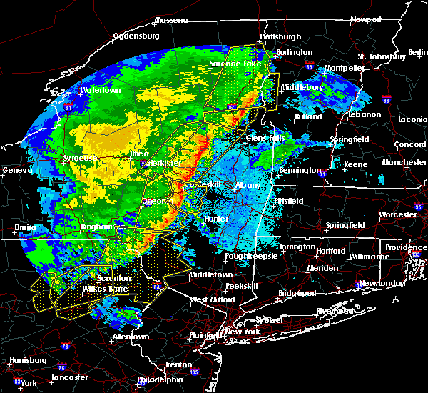 Radar Image for Severe Thunderstorms near Gloversville, NY at 5/1/2017 9:10 PM EDT