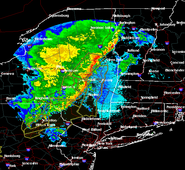 Radar Image for Severe Thunderstorms near Kingston, NY at 5/1/2017 9:29 PM EDT