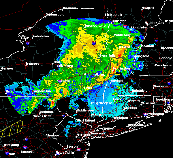 Radar Image for Severe Thunderstorms near Wynantskill, NY at 5/1/2017 10:24 PM EDT