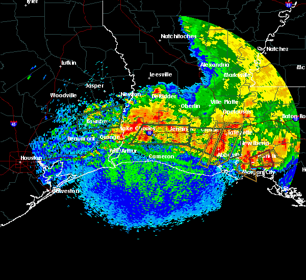 Radar Image for Severe Thunderstorms near Kaplan, LA at 5/3/2017 12:05 PM CDT