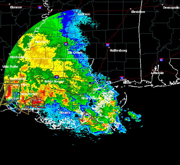 Radar Image for Severe Thunderstorms near Patterson, LA at 5/3/2017 12:09 PM CDT