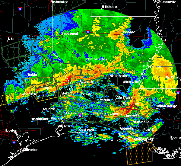 Radar Image for Severe Thunderstorms near Hemphill, TX at 5/3/2017 6:42 PM CDT