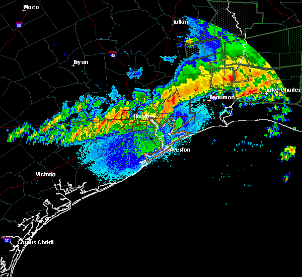 Radar Image for Severe Thunderstorms near Beach City, TX at 5/3/2017 8:33 PM CDT
