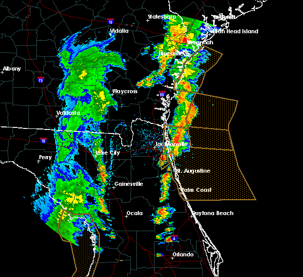 Radar Image for Severe Thunderstorms near World Golf Village, FL at 5/4/2017 5:56 PM EDT