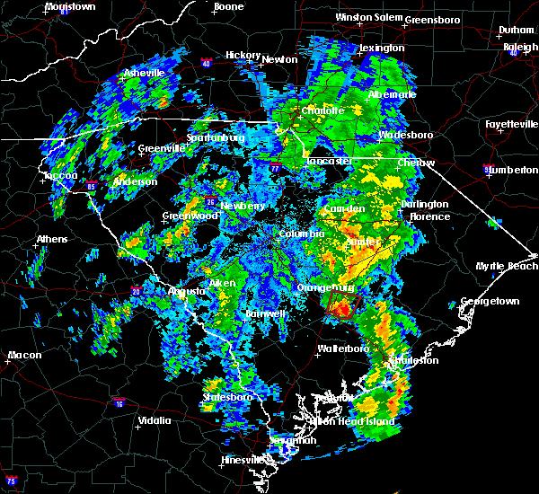 Radar Image for Severe Thunderstorms near Vance, SC at 5/4/2017 9:09 PM EDT