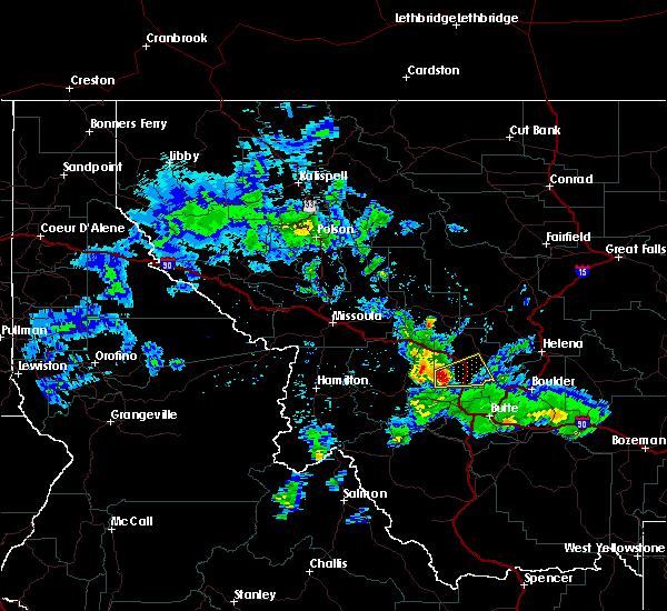 Radar Image for Severe Thunderstorms near Garrison, MT at 5/6/2017 3:20 PM MDT