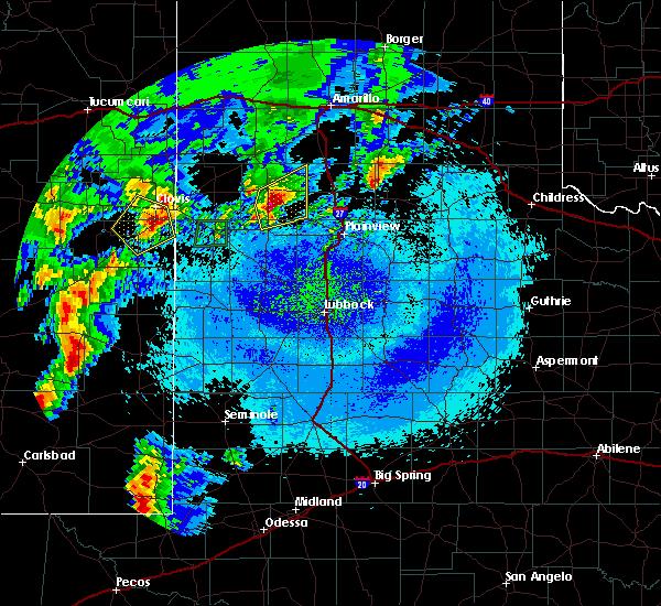 Radar Image for Severe Thunderstorms near Hart, TX at 5/10/2017 1:10 AM CDT