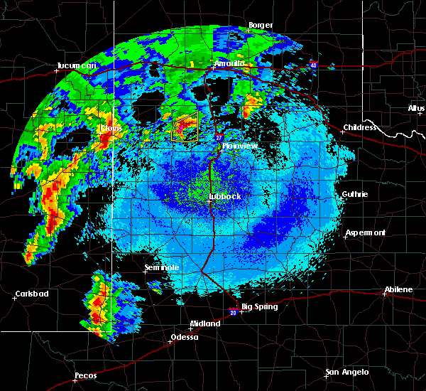 Radar Image for Severe Thunderstorms near Hart, TX at 5/10/2017 1:19 AM CDT