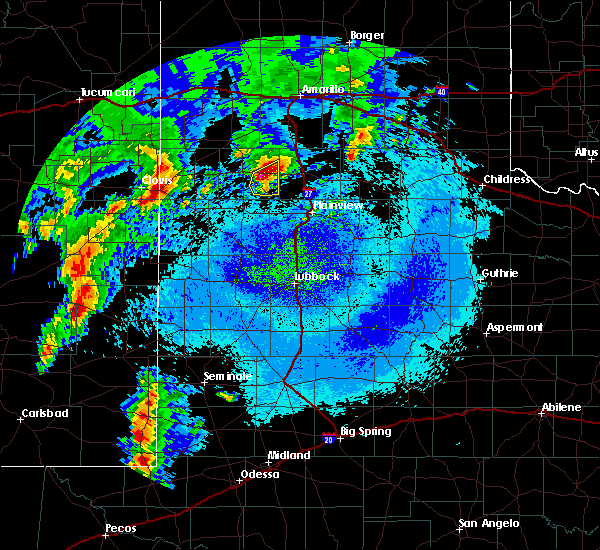 Radar Image for Severe Thunderstorms near Hart, TX at 5/10/2017 1:31 AM CDT