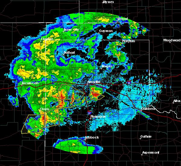 Radar Image for Severe Thunderstorms near Dimmitt, TX at 5/10/2017 2:43 AM CDT