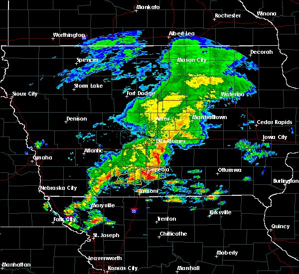 Radar Image for Severe Thunderstorms near Woodburn, IA at 5/10/2017 12:56 PM CDT