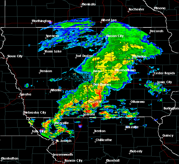 Radar Image for Severe Thunderstorms near Osceola, IA at 5/10/2017 1:14 PM CDT