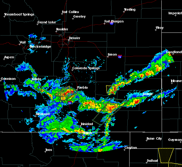 Radar Image for Severe Thunderstorms near Sugar City, CO at 5/10/2017 4:17 PM MDT