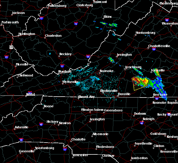Radar Image for Severe Thunderstorms near Brookneal, VA at 5/10/2017 8:49 PM EDT