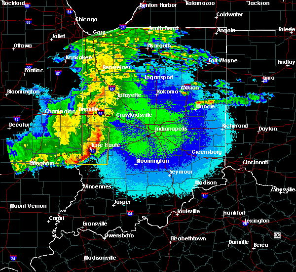 Radar Image for Severe Thunderstorms near Shepardsville, IN at 5/10/2017 10:37 PM EDT