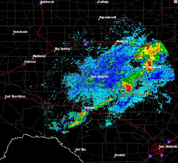 Radar Image for Severe Thunderstorms near Melvin, TX at 5/11/2017 4:52 AM CDT