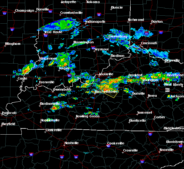 Radar Image for Severe Thunderstorms near Springfield, KY at 5/11/2017 3:15 PM EDT