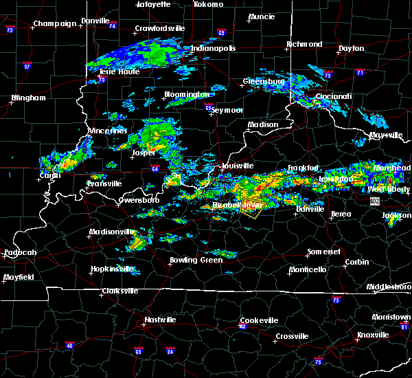 Radar Image for Severe Thunderstorms near Loretto, KY at 5/11/2017 3:35 PM EDT