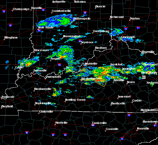 Radar Image for Severe Thunderstorms near Loretto, KY at 5/11/2017 3:48 PM EDT