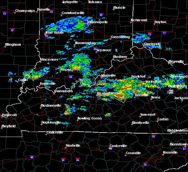 Radar Image for Severe Thunderstorms near Springfield, KY at 5/11/2017 3:54 PM EDT
