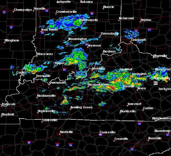 Radar Image for Severe Thunderstorms near Springfield, KY at 5/11/2017 4:03 PM EDT