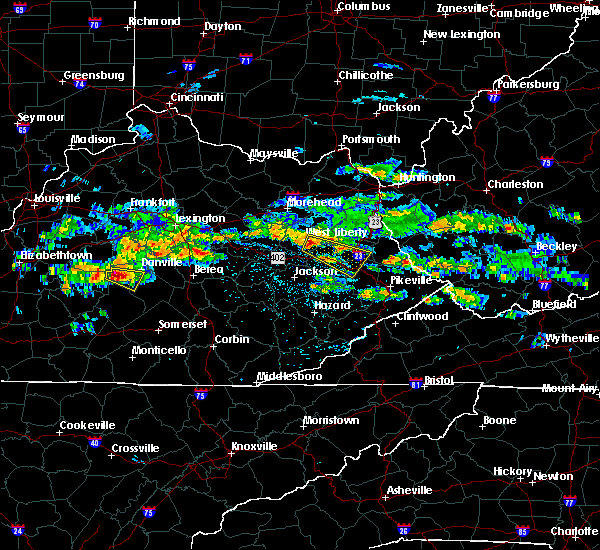 Radar Image for Severe Thunderstorms near Paintsville, KY at 5/11/2017 4:23 PM EDT