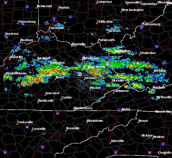 Radar Image for Severe Thunderstorms near Auxier, KY at 5/11/2017 4:35 PM EDT