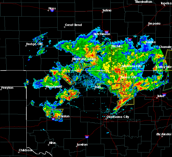 Radar Image for Severe Thunderstorms near Dacoma, OK at 5/11/2017 3:36 PM CDT