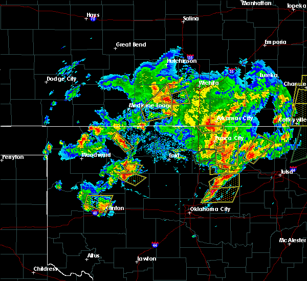 Radar Image for Severe Thunderstorms near Dacoma, OK at 5/11/2017 3:46 PM CDT