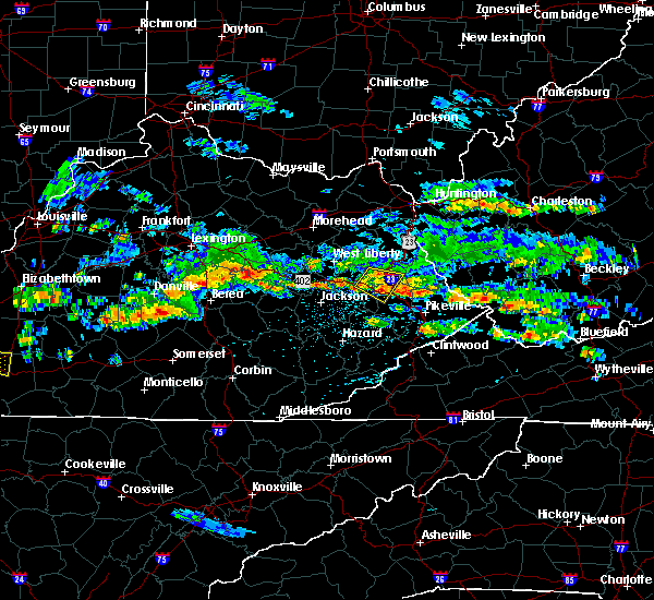 Radar Image for Severe Thunderstorms near Prestonsburg, KY at 5/11/2017 4:55 PM EDT