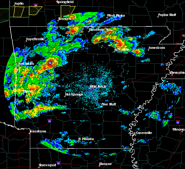 Radar Image for Severe Thunderstorms near Melbourne, AR at 5/11/2017 4:09 PM CDT