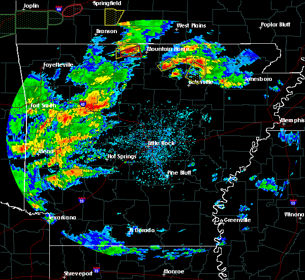 Radar Image for Severe Thunderstorms near Pineville, AR at 5/11/2017 4:25 PM CDT