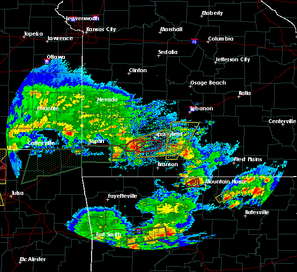 Radar Image for Severe Thunderstorms near Ozark, MO at 5/11/2017 4:36 PM CDT