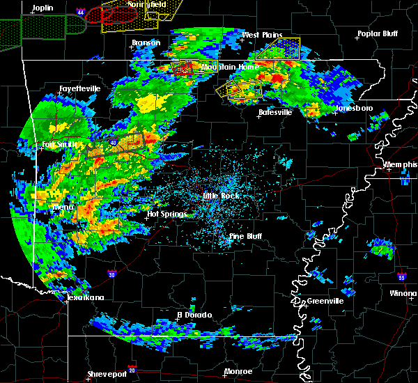 Radar Image for Severe Thunderstorms near Mount Pleasant, AR at 5/11/2017 4:42 PM CDT