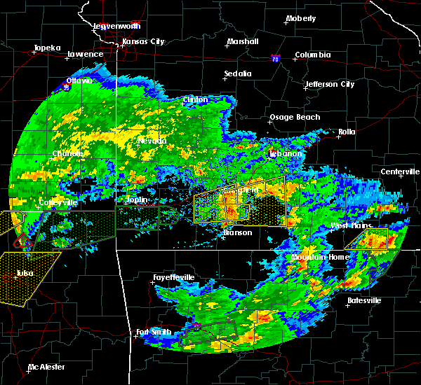 Radar Image for Severe Thunderstorms near Ozark, MO at 5/11/2017 5:24 PM CDT