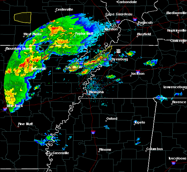 Radar Image for Severe Thunderstorms near Black Oak, AR at 5/11/2017 6:20 PM CDT