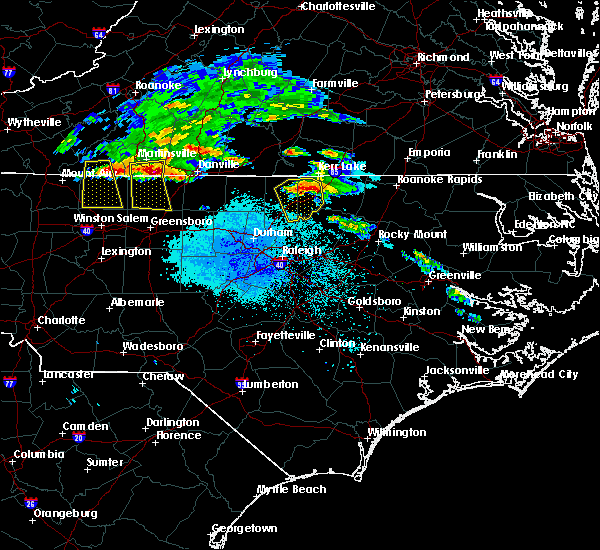 Radar Image for Severe Thunderstorms near Kittrell, NC at 5/11/2017 7:33 PM EDT