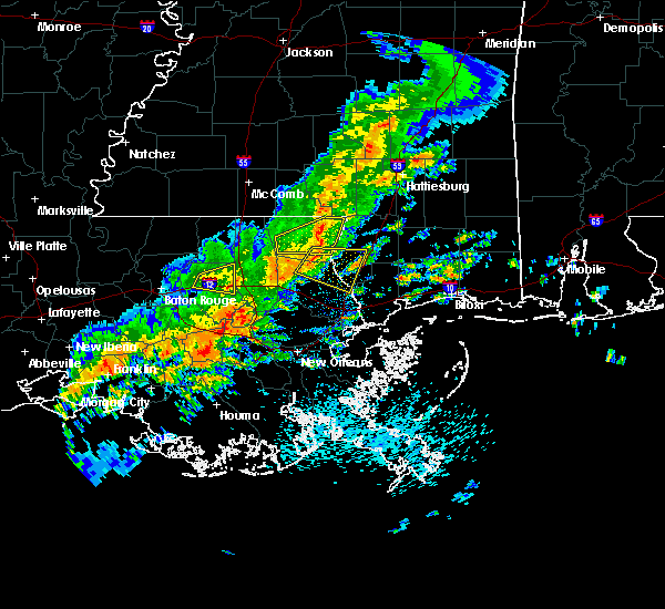Radar Image for Severe Thunderstorms near Picayune, MS at 5/12/2017 10:06 AM CDT