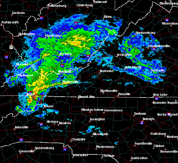 Radar Image for Severe Thunderstorms near Mountain City, TN at 5/12/2017 2:40 PM EDT
