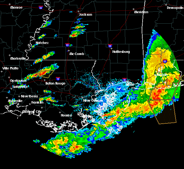 Radar Image for Severe Thunderstorms near Central, LA at 5/12/2017 2:41 PM CDT