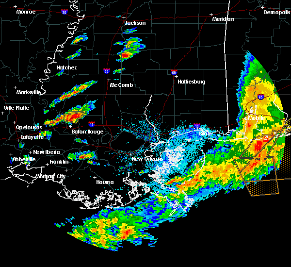 Radar Image for Severe Thunderstorms near Central, LA at 5/12/2017 2:59 PM CDT