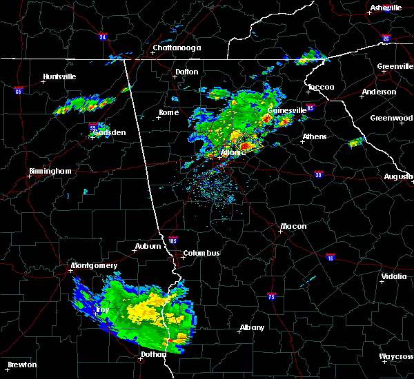 Radar Image for Severe Thunderstorms near Lilburn, GA at 5/12/2017 6:32 PM EDT