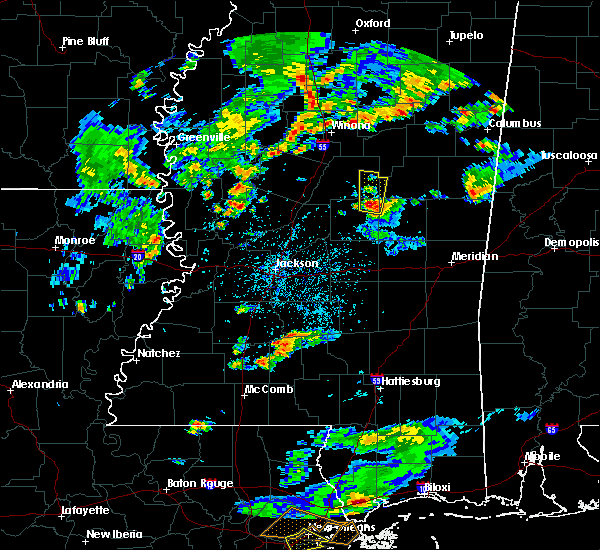 Radar Image for Severe Thunderstorms near Pearl River, MS at 5/12/2017 6:20 PM CDT