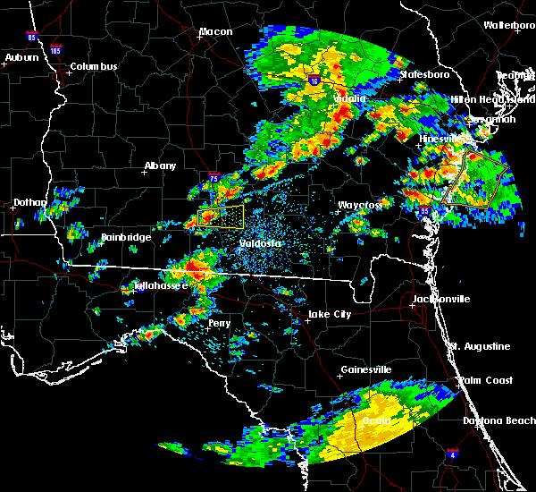 Radar Image for Severe Thunderstorms near Nashville, GA at 5/13/2017 1:20 PM EDT