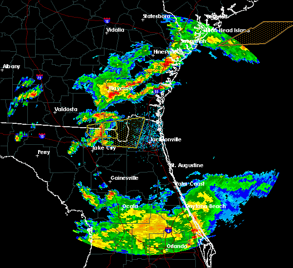 Radar Image for Severe Thunderstorms near Callahan, FL at 5/13/2017 3:24 PM EDT