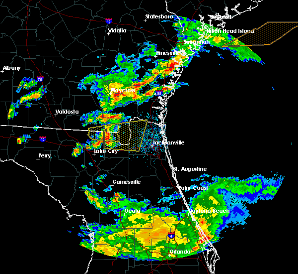 Radar Image for Severe Thunderstorms near Macclenny, FL at 5/13/2017 3:24 PM EDT