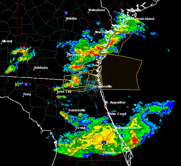 Radar Image for Severe Thunderstorms near Callahan, FL at 5/13/2017 3:51 PM EDT